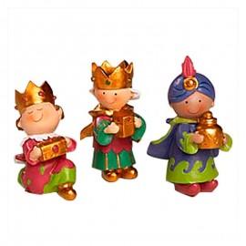 3 Reyes Magos Pit & Pita 7 cm