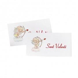 5 Tarjetas Precortadas Cupido Sant Valentí