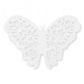 10 Mariposas de Papel 14 cm