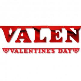 Banderín Valentine's Day 15 x 200 cm