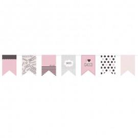 hacer banderines de papel Banderines De Papel FiestasMix