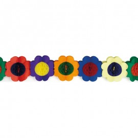 Guirnalda forma Flor 3 mts