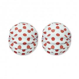 Farol Redondo con Lunares de Colores 22 cm