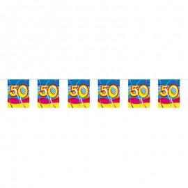 Banderines 50 con Remolinos