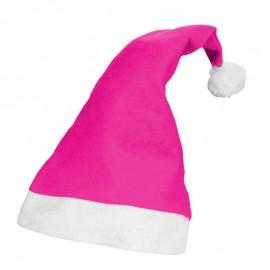 Gorro Natal Rosa Forte