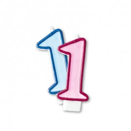 Vela Cumpleaños nº1