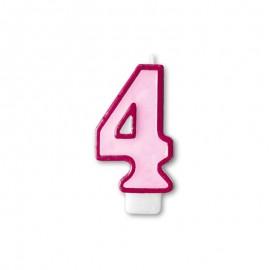 Vela Cumpleaños nº4