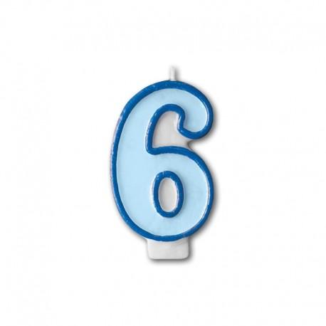 Vela Cumpleaños nº6
