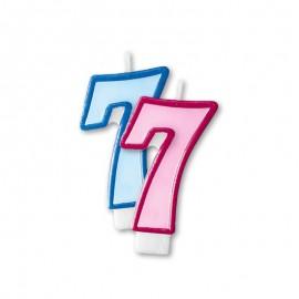 Vela Cumpleaños nº7