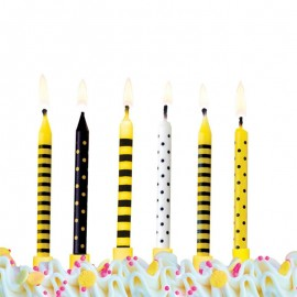 6 Velas para Cumpleaños Varios Diseños