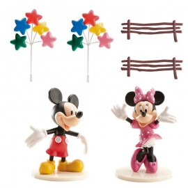 Kit Decoración Mickey & Minnie para Pastel