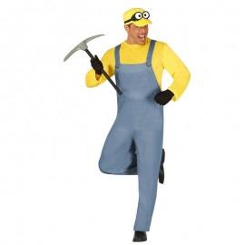 Disfraz de Minion Miniero para Hombre