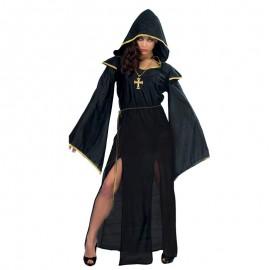 Disfraz de Sacerdotisa con Detalles Dorados para M