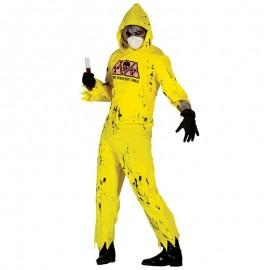 Disfraz de Zombie Radioactivo con Mascarilla para