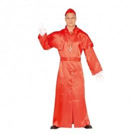 Disfraz de Cardenal con Sotana para Hombre