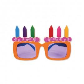 Gafas forma Tarta