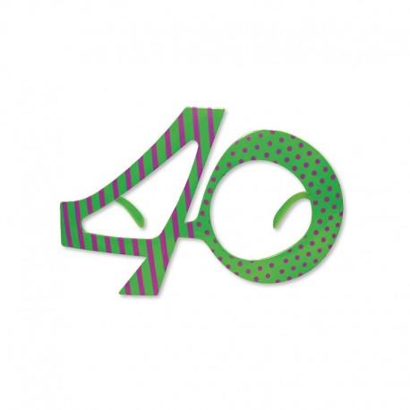 Imagenes De Cumpleanos Numero 40.Gafas Para Cumpleanos Numero 40