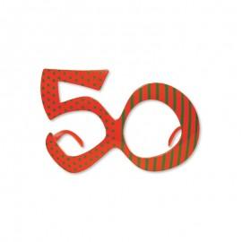 Gafas para Cumpleaños Número 50