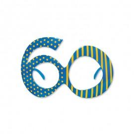 Gafas para Cumpleaños Número 60
