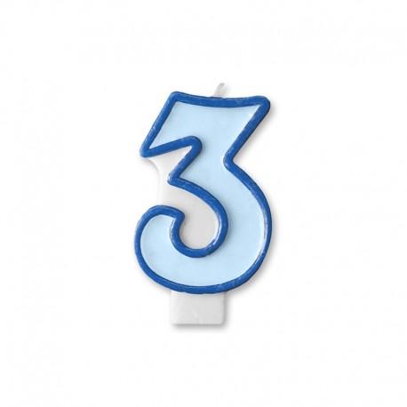Vela Cumpleaños nº3