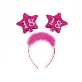 Diadema 18 Cumpleaños con Estrellas