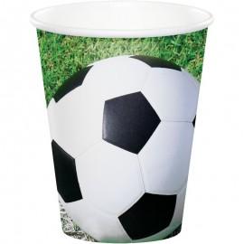 8 Vasos Fútbol