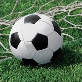 18 Servilletas Fútbol 33 cm