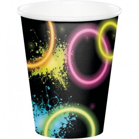 8 Vasos Glow Party