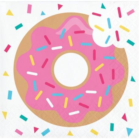 16 Servilletas Donut 25 cm