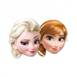 6 Caretas de Frozen