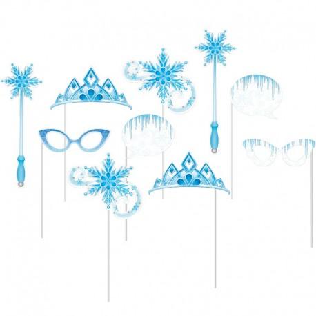 10 Accesorios Photocall Copos de Nieve