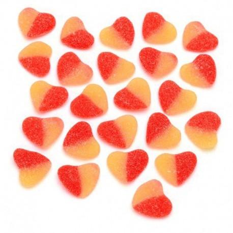 Chuches de Corazón Melocotón Boolies 1 kg
