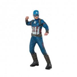 Disfraz de Capitan America Premium Infantil