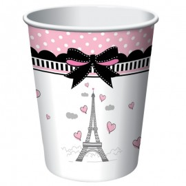 8 Vasos Paris 266 ml