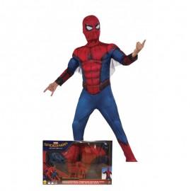 Disfraz de Spiderman con Máscara Infantil