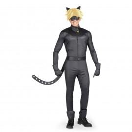 Disfraz de Cat Noir Entero para Hombre
