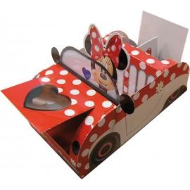 Cajita Coche Minnie Mouse