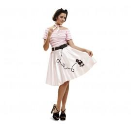 Disfraz de Pink Lady Adulto Talla S/M/L