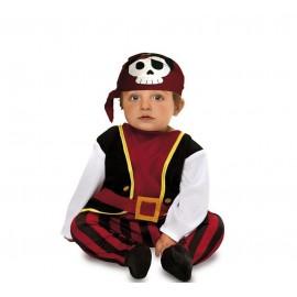 Disfraz de Bebé Pirata Infantil