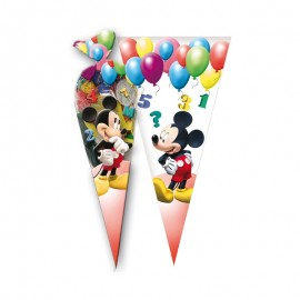 10 Bolsas Mickey para Chuches forma Cono