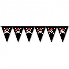 Banderines Pirata Triangulares 3 mts