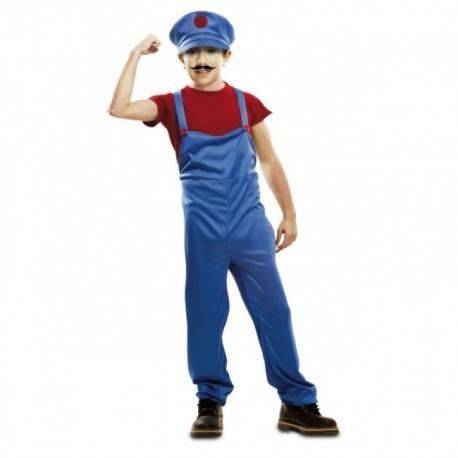Disfraz de Super Plumber Infantil
