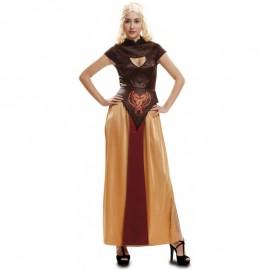 Disfraz de Reina Dragón Guerrera Adulto