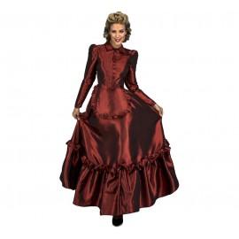 Disfraz de Dama Escarlata Del Oeste Adulto