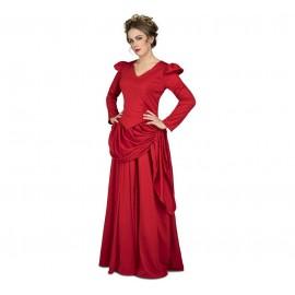 Disfraz de Dama Roja Del Oeste Adulto