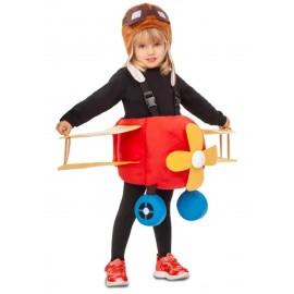 Disfraz de Avión Piloto Infantil