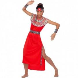 Disfraz de Masai Mujer Adulto