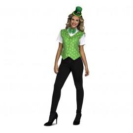 Disfraz de Irish Woman Adulto