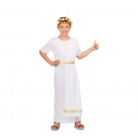 Disfraz de Romano Blanco Infantil