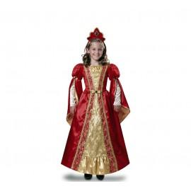 Disfraz de Reina Roja Infantil